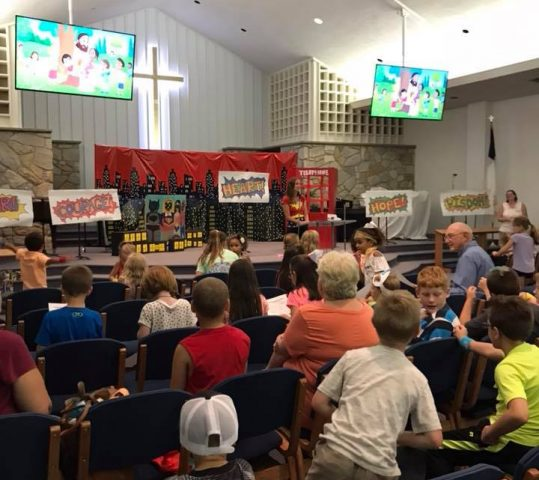 Vacation Bible School Update!